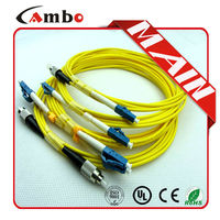 Hot sell in usa market Sindle mode/Multimode SC-SC/LC-LC/FC-LC patch cord fibra optica