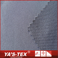 Comfortable and breathable spandex poly twill jacquard fast dry fabric for outdoor clothing