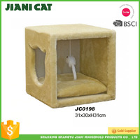 high quality wooden material indoor pet product of cat house