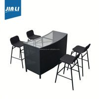 All-season performance factory supply modern style outdoor bar furniture