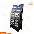 Wood Handle Cobblestone Tile Board Display Stand for Showroom