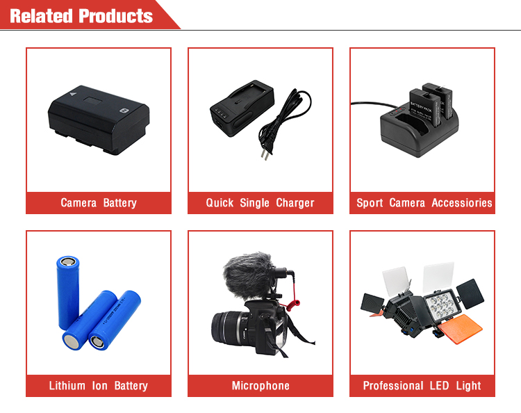 7.4V 2750mAh EN-EL3E for Nikon D700 D300 D90 D80 D70s D50 DSLR Camera