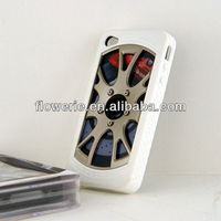FL2432 2013 Guangzhou hot selling automobile tire pattern car wheel case for iphone 5 5G