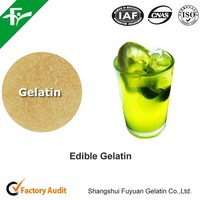 edible gelatin / food grade gelatin as a binder and fining agent in food industry