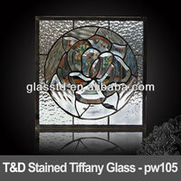 decorative tiffany fused glass wall
