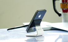 Customized desk mobile phone stand