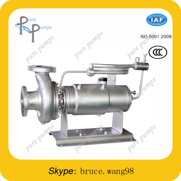 hermetic horizontal stainless steel specific gravity canned motor pump