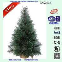 55cm Artificial Christmas Trees Green Christmas Trees for Home Decoration China Manufacturer