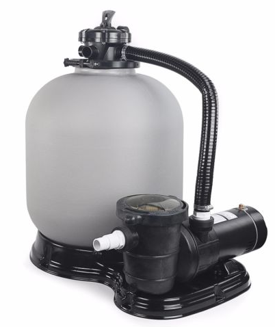 swimming pool pump and sand filter combo