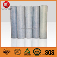 HDPE Self-adhesive Waterproof Roofing Membrane for construction