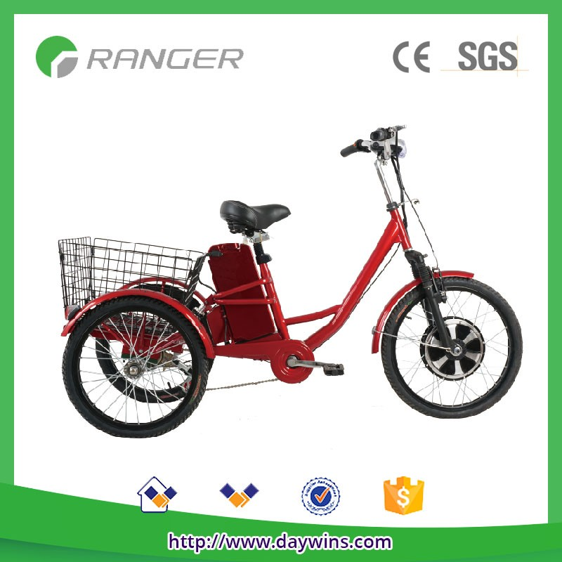 three wheel electric tricycle adults