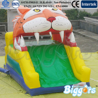 Small Tiger Double Side Inflatable Slip n Slide