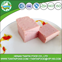 cheap canned food halal canned chicken luncheon meat