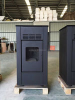 Air and Water Heating Pellet Stove Bioler