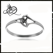 High Quality Stainless Steel Female Celtic Knot Ring