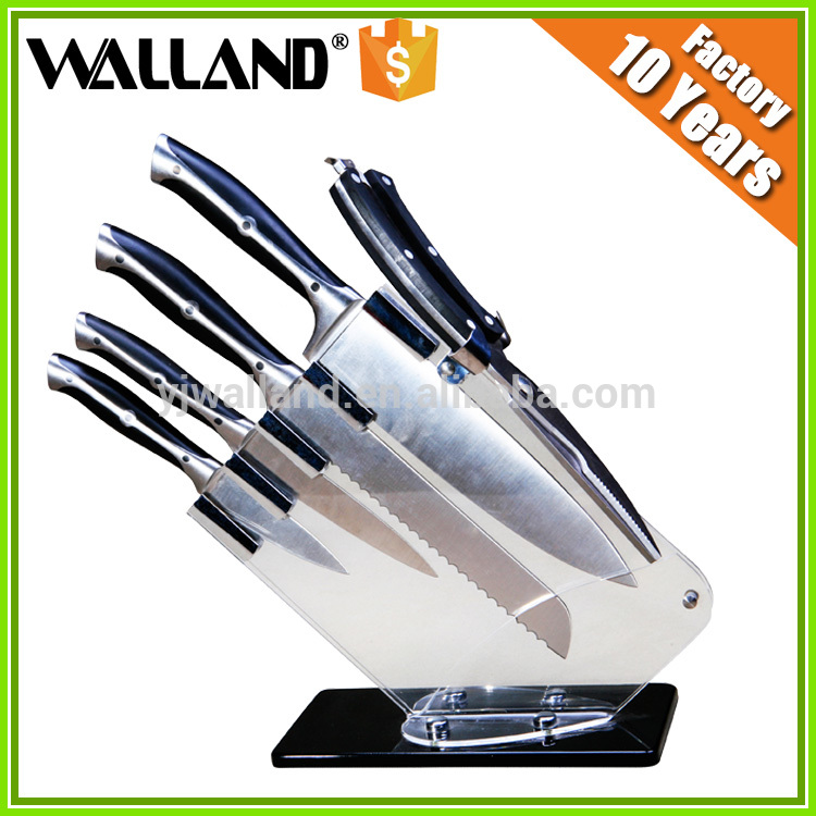 online wholesale shop knife set in suitcase metal square
