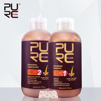 2016 Hot sale Professional hair loss solution thickening shampoo and conditioner for losing hair problem