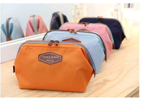 Fashion High Capacity Cosmetic Bag Organizers Multifunctional Cute Portable Travel Toiletry Bags