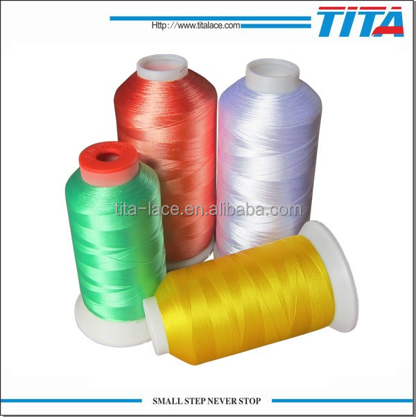 Cheap price Filament Polyester machine embroidery thread for embroidery machines