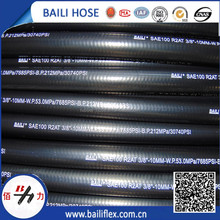 The Lowest Price Smooth Cover EN853 2SN Hydraulic Hose