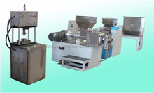 washing soap making machine line/soap making equipment/laundry bar soap making machine with lower price