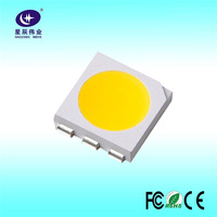 0.5W SMD LED 5050 with super thin COB ultra-high brightness white lamp bead