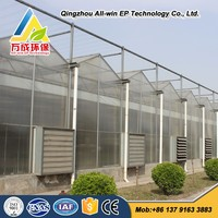 Advanced Hydroponics Agricultural Commercial PC Greenhouse