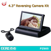 4.3 inch Weatherproof Rearview Backup Camera System Kit, car rear view camera system