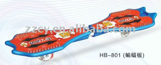 ABS or PP Material Swing Board Vigor Board Skate Board