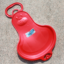 Snow sledge Winter outdoor toys for Kids plastic Snow Sleigh Sled ski