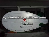 Outdoor LED rc blimp, inflatable zeppelin airship