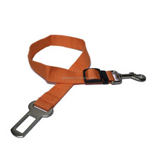 Polyester dog safety belt protect dog in the car