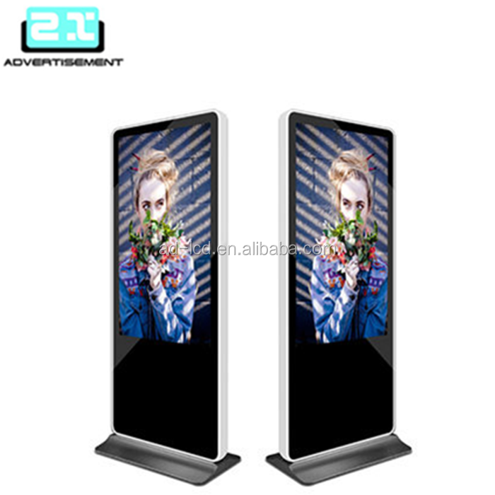 floor stand wall mount android touch screen kiosk restaurant lcd advertising screen