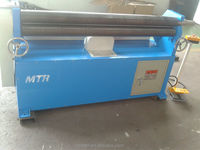 W11 hydraulic plate bending rolls, plate bending roller, plate coil machine