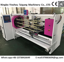 Tape cutting machine six shaft automatic exchange and automatic cutting machine
