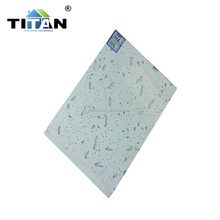 Mineral fiber Materials used for False Ceiling in China