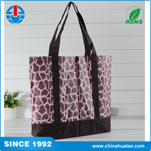 Fugang Cheap Printed Fashion Vietnam PP Woven Shopping Bags For Lady
