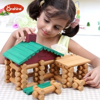 children toys new 2016 style wooden educational toys building blocks 90pcs