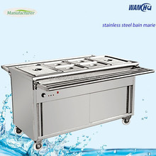 Buffet Hot Food Diaplay Warmer Cabinet Showcase/Electric Bain Marie Buffet Service for Restaurant Manufacturer