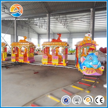 Professional Chinese small amusement park train for sale