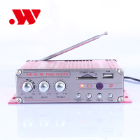 YW-203 2 channel car audio amplifier with remote control