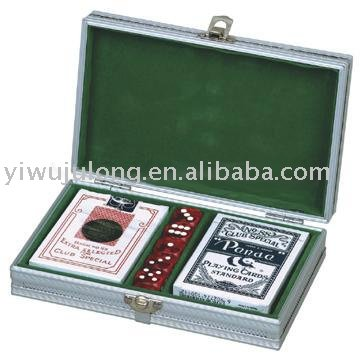 Fashion poker set case