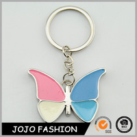 Latest Design Four Kinds Of Color Wings Butterfly Keychain