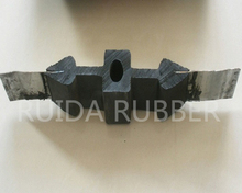 Bentonite hydrophilic swellable steel edge rubber waterstop with different specification