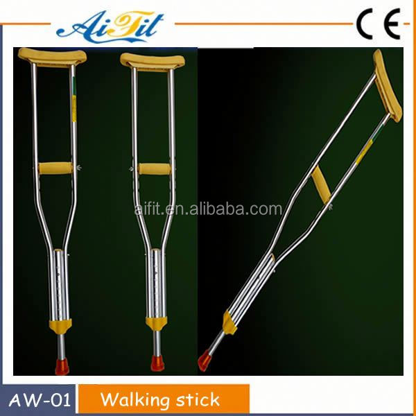 New coming aluminum medical walking sticks/High quality medical crutch In china/Steady walking