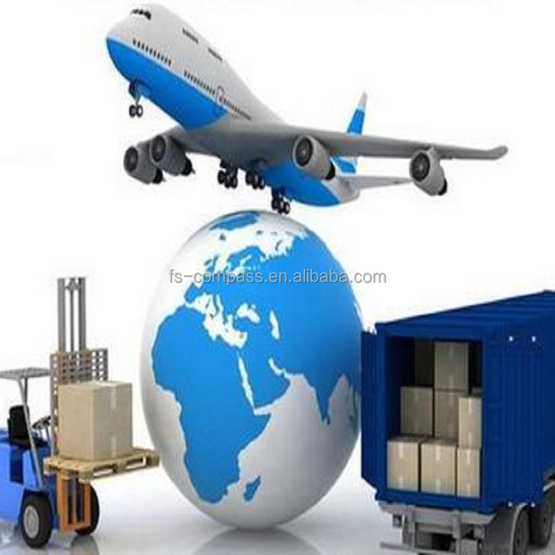 DHL/FedEx freight forwarder shipping, Airfreight From Shanghai to Iowa, USA.