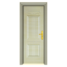 Foshan wood grain security steel door factory price SD10