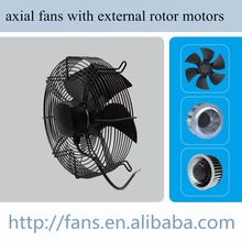Air conditioner fan low noise axial fans with external rotor motors 200mm