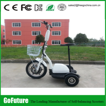 3 wheel self balancing electric scooter smart balance foldable electric vehicle three wheels zappy
