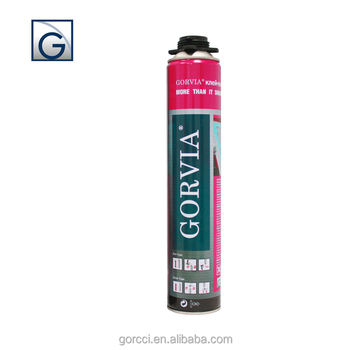 Gun type Low expansion PU foam sealant for construction application /Gorvia Item-G